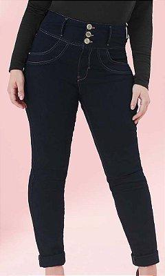 Calça Jeans com Cintura Alta   64335