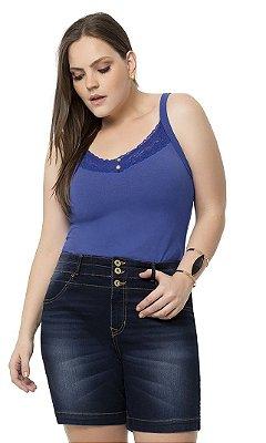 Shorts Jeans com Lavação Escura   31969