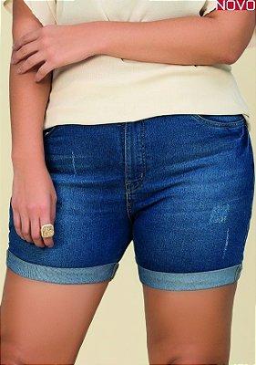 Shorts Jeans com Barra Dobrada   20337