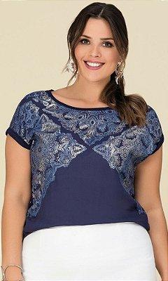 Blusa com Estampa Sublimada   20541