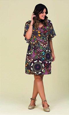 Vestido Estampado Floral   20526
