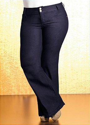 Calça Jeans Flare com Elastano   125032