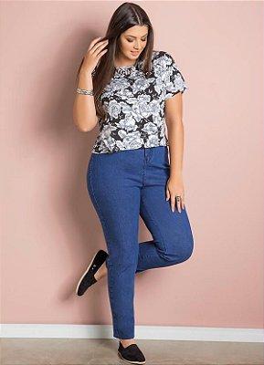 Calça Jeans Skinny Cintura Alta   217946