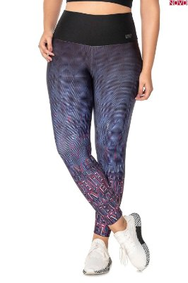 Legging Live Label com Estampa Localizada   83494