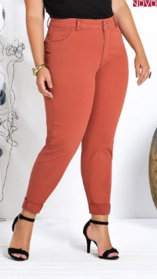 Calça Sarja Color Essencial Skinny   20902