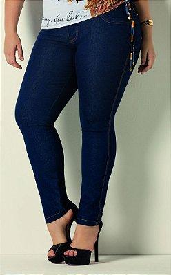 Calça Skinny com Elástico na Cintura    171060