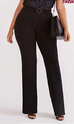 Calça Pantalona com Cinto Agregado    46342