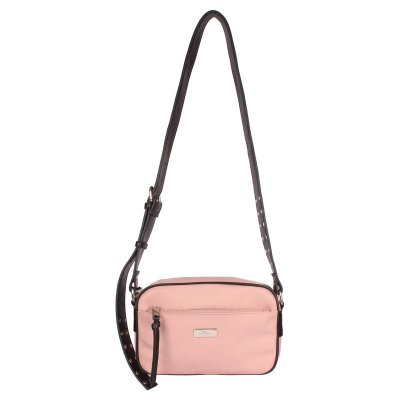 Crossbody Média Nylon com Metais - 44975