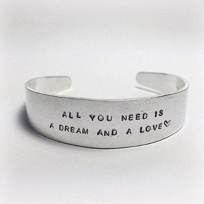 Bracelete U Personalizado