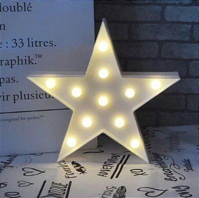 Luminoso de LED Estrela
