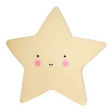 Mini Luminária de Led - Estrela Amarela