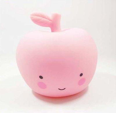 Mini Luminária de Led - Maça Rosa