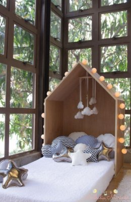 Cama Little House Montessori