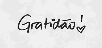 Minibanner Gratidão
