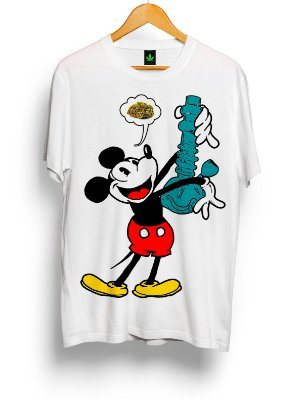Camiseta Mickey Bong