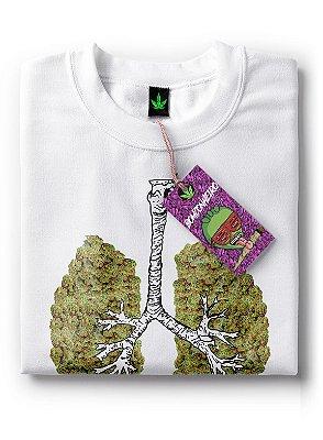 Camiseta Pulmão de Maconha