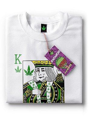 Camiseta Rei da Maconha