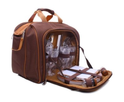 Bolsa Térmica com Kit Picnic - Guepardo