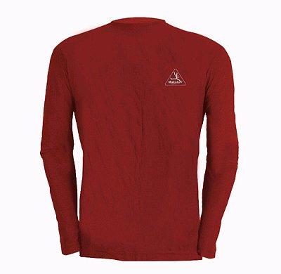 Camisa Manga longa Dry Pro Feminina Vermelha - Makalu Sports