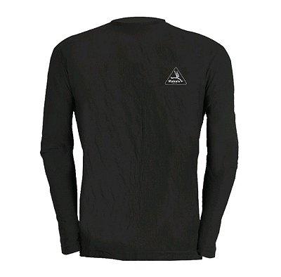 Camisa Manga longa Dry Pro Feminina Preto - Makalu Sports