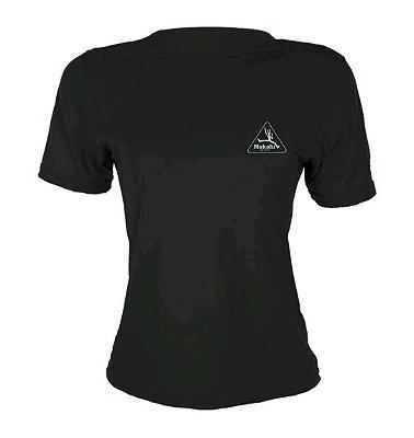 Camisa Dry Pro Feminina Preto - Makalu Sports
