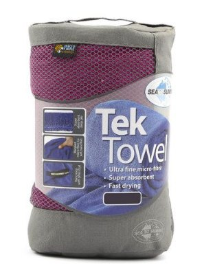 Toalha Tek Towel M Roxo