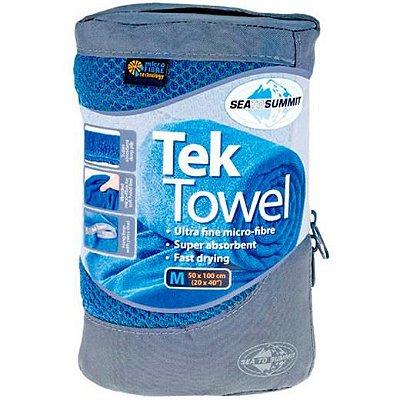 Toalha Tek Towel M Azul
