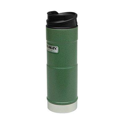 Garrafa Térmica One Handed Hammertone Green 0,473 L - Stanley