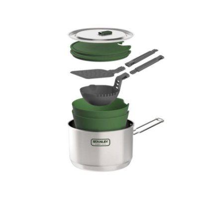 Kit Prep & Cook 10 Peças Stainless Steel 1,50 L - Stanley