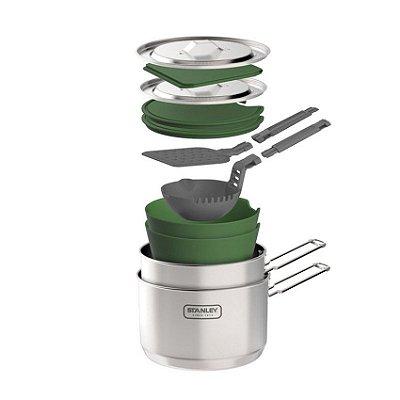 Kit Prep & Cook 13 Peças Stainless Steel 2,30 L - Stanley