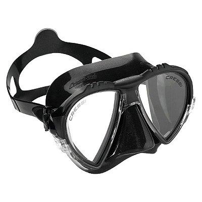 Máscara de Mergulho Matrix Preta - Cressi