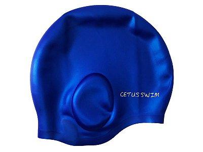 Touca de Natação Formato de Orelha Silicone - Cetus