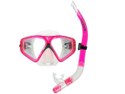 Kit New Parma PVC Rosa/Transparente - Cetus