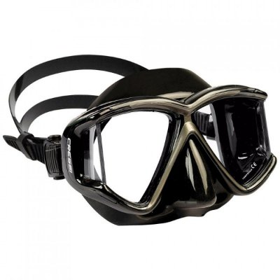 Máscara de Mergulho Pano 4 - Preta - Cressi