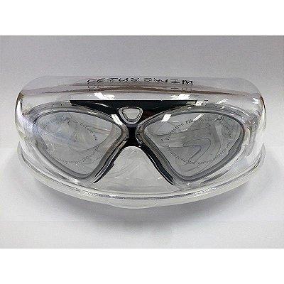 Óculos de Natação Auru Transparente C/Preto - Cetus
