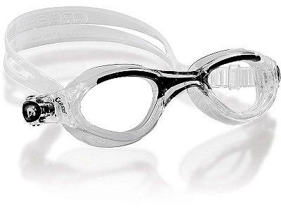 Óculos de Natação Flash Preto c/ Trasparente - Cressi