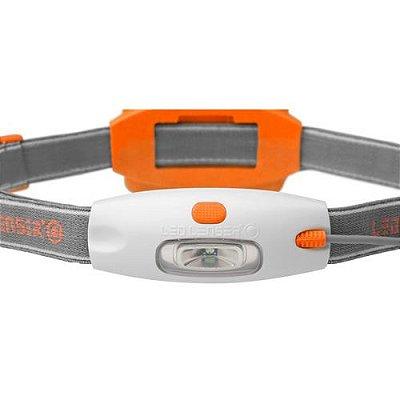 Lanterna de Cabeça Neo 90 Lumens Laranja - Led Lenser