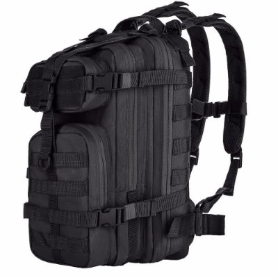 Mochila Assault Preto- Invictus