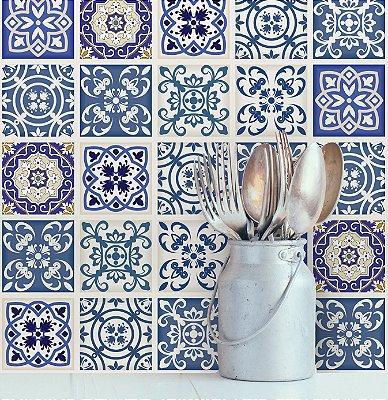 Adesivo de Azulejo Royal 15x15 cm com 36 un