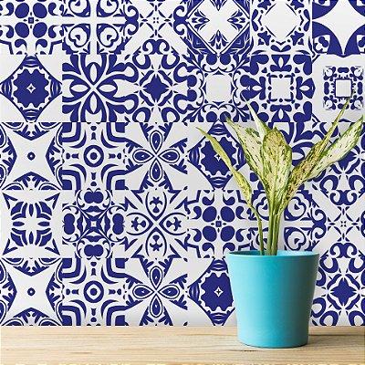 Adesivo de Azulejo Del Rey 15x15 cm com 36 un