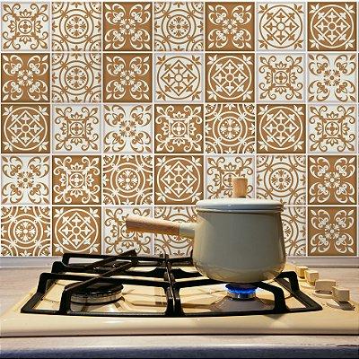 Adesivo de Azulejo São Francisco 15x15 cm com 36 un