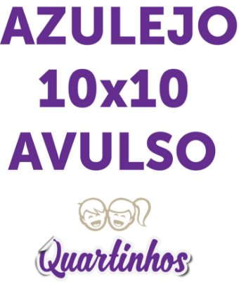 Azulejo Avulso 10x10 cm