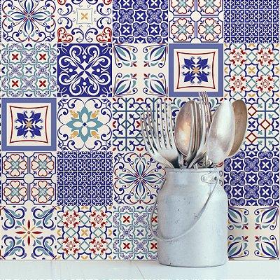 Adesivo de Azulejo Monte Belo 10x10 cm com 100 un