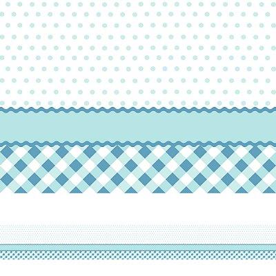 Adesivo de Parede Faixa Decorativa Azul 10m x 10cm