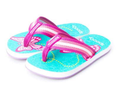 Chinelo Spoon Kids Borboleta