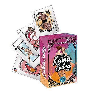 Super Baralho Erótico Kama Sutra Duo 73 Cartas Feitiços