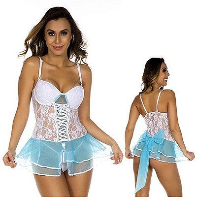 Fantasia Cinderela Sexy Feminina Pimenta Sexy
