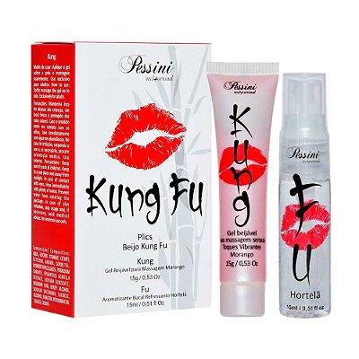 Kung Fu Plics Pessini Kit Sexo Oral e Garganta Profunda