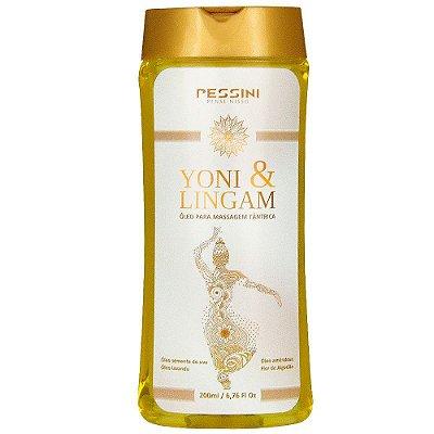 Óleo Massagem Tântrica Yoni & Lingam 200 ml Pessini