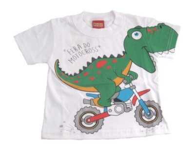 Camiseta Motocross (Branca) -Kyly